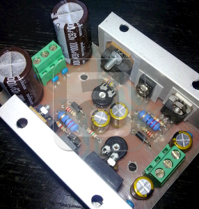 Dual 3a Dc Dc Voltage Regulated Power Supply Tip35c Tip36c Power Supply Power Installation