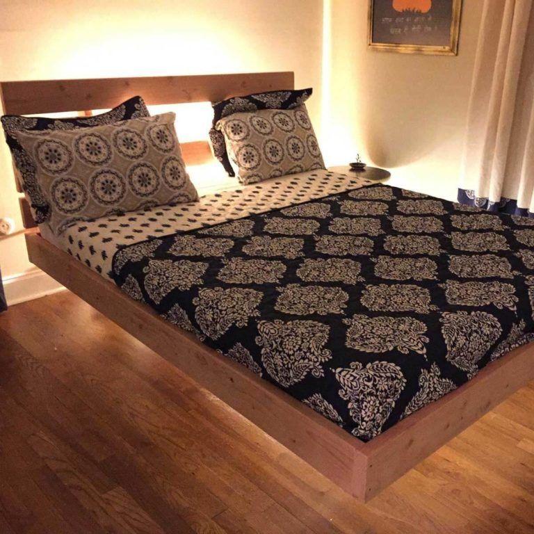 11 Great Diy Bed Frame Plans And Ideas Bed Frame Plans Floating