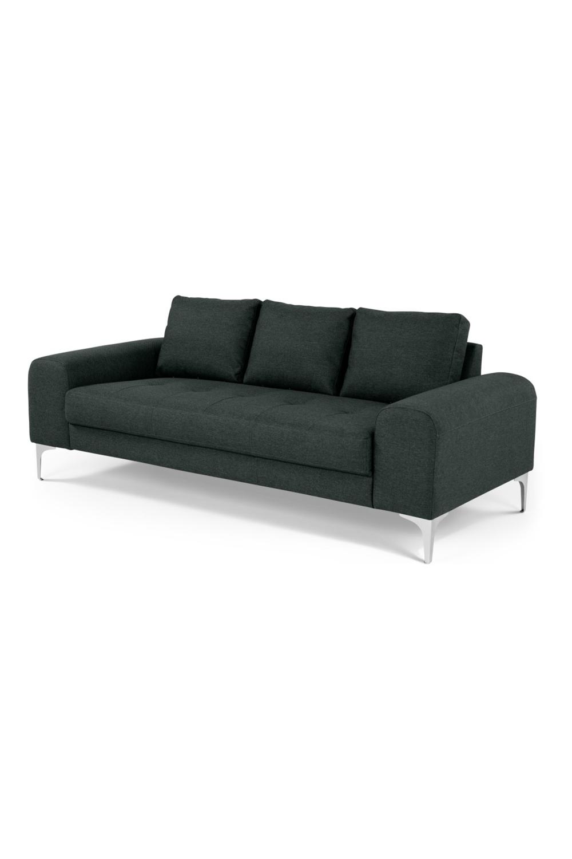Vittorio 3 Sitzer Sofa Anthrazit Sofa Furniture Couch