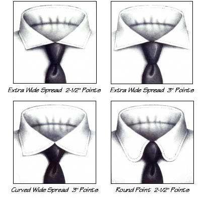 Custom Dress Shirt Collars 3 Details Pinterest