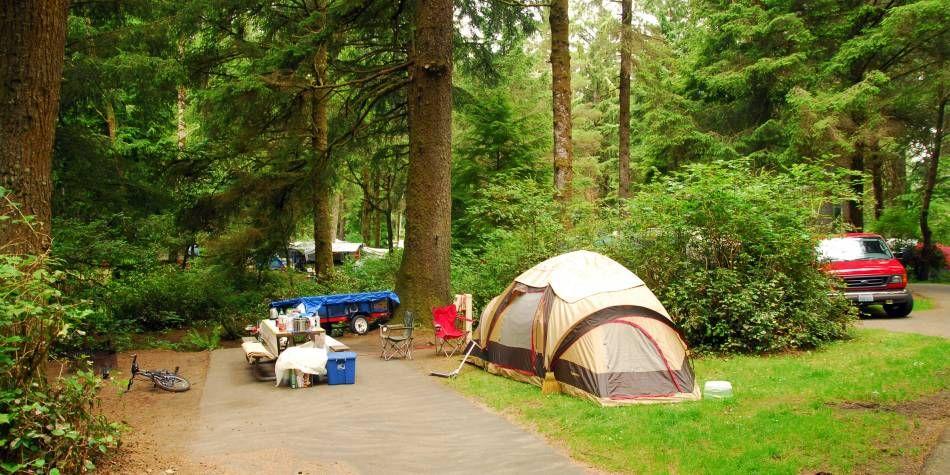 Full hookup camping oregon