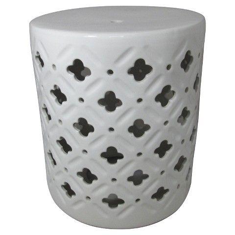 Threshold™ Ceramic Accent Table - Cream/Clover