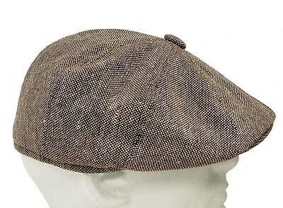 Tweed Gatsby Newsboy Cap Men Ivy Hat Wool Golf Driving Flat Cabbie S M L Xl Xxl Newsboy Cap Men Newsboy Cap Newsboy