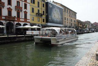 NavigarMangiando: mini crociere e piatti tipici del territorio sul Naviglio Grande @navigli.lombardi