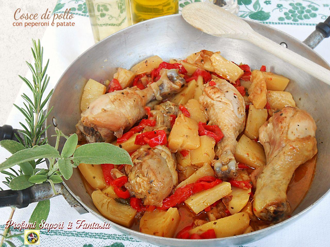 Pollo Con I Peperoni Ricetta Facile