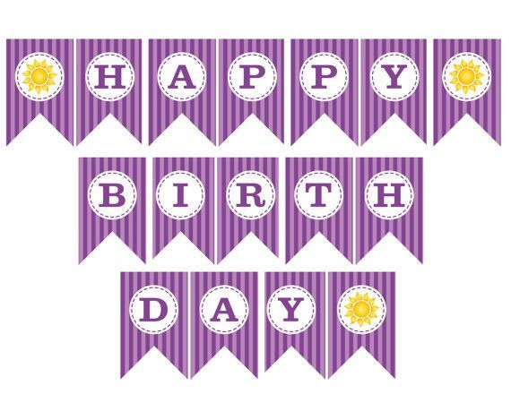 happy birthday banner printable happy birthday banner printable