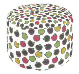 Chalk It Up apples cut outs on a cute cushion!  Love this! #creativeteachingpress