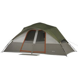 Ozark Trail 8 Person 2-Room Dome Tent that I'm taking to