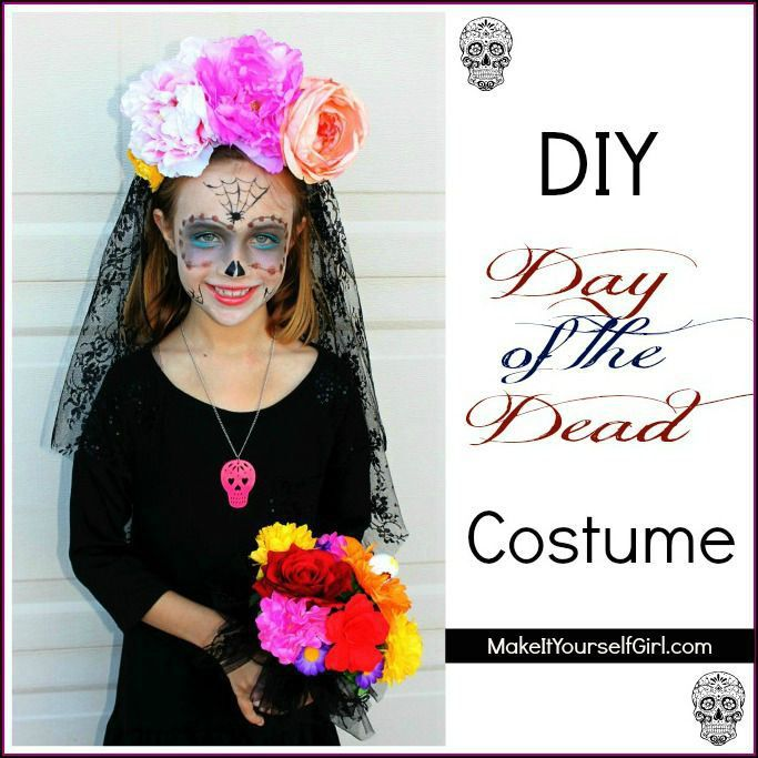 DIY Day of the Dead Costume | Costumes and Girls