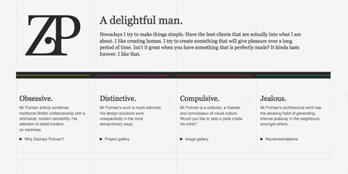 37 Inspiring Examples Of Super Clean Text Based Website Designs Website Design Text Based Inspiration