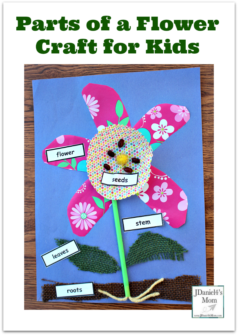 Parts Of A Flower Craft For Kids A Free Set Of Printable Plant Part Labels In Available On This P Flower Activities For Kids Parts Of A Flower Crafts For Kids [ 1124 x 800 Pixel ]