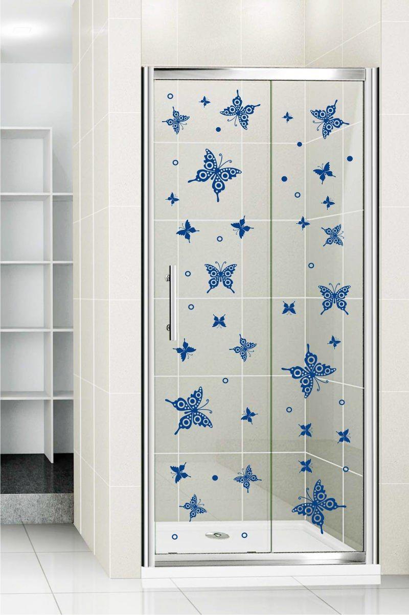 Stickonmania Com Vinyl Wall Decals Shower Door Vinyl Decal 35 Shower Doors Wall Decor Stickers Vinyl Wall