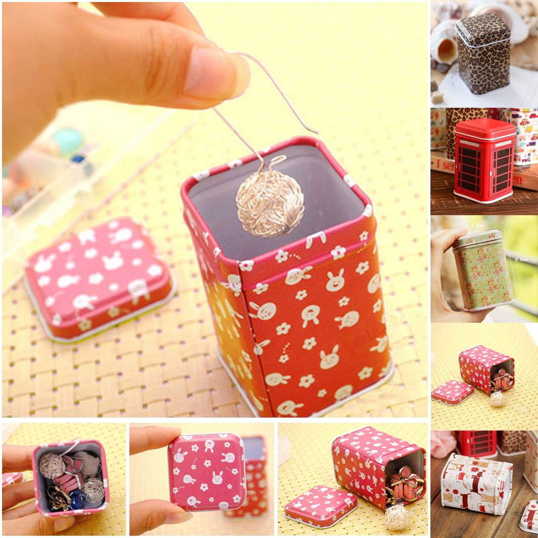 4e24547ee Best Gifts · Cases · Item name:small storage square tin box cases for  jewelry earrings packing from tin manufacturer