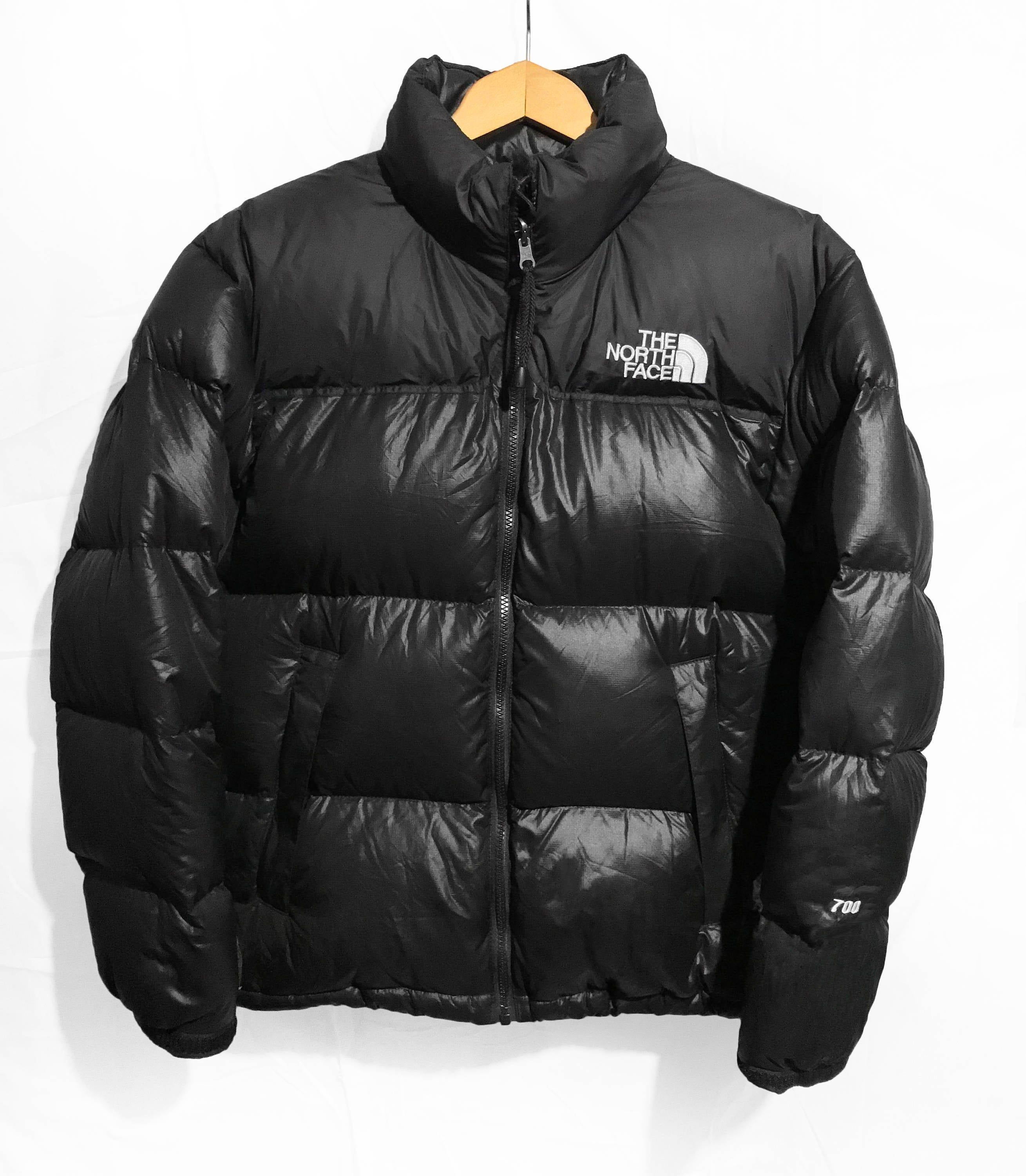 The North Face 700 Nuptse Down Puffer Jacket Size M L Black Puffy North Face 700 The North Face Puffer [ 3000 x 2619 Pixel ]