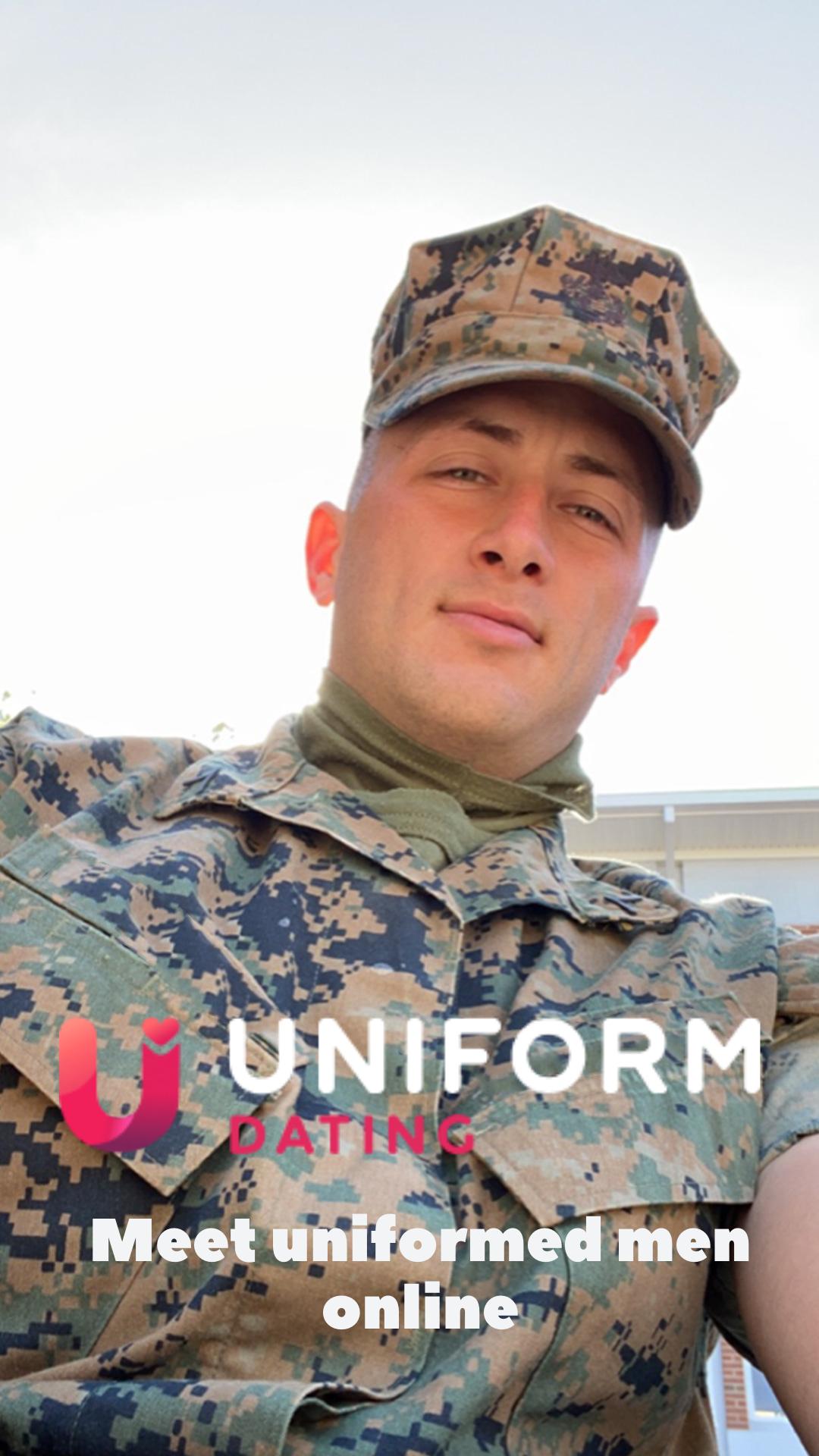 Men in uniform dating site updating my mac