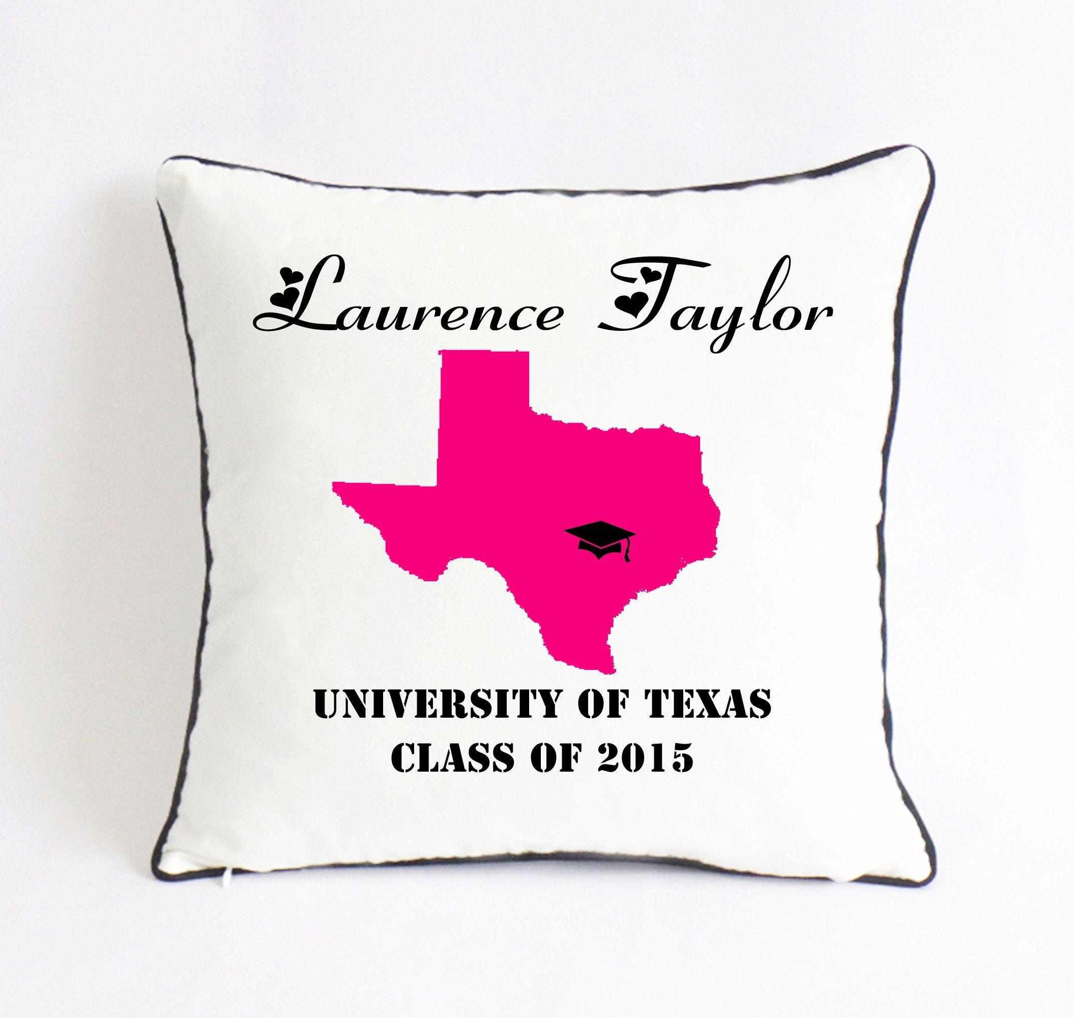 College graduation pillowgraduation party decortexas
