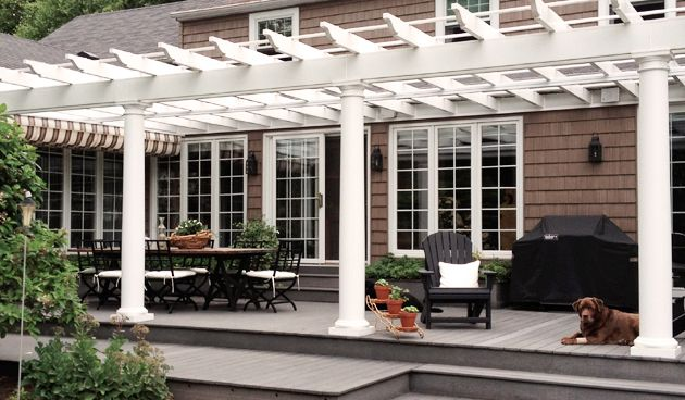 Pergola Design: How to Choose Your Building Material - Pergola Design: How To Choose Your Building Material Patio