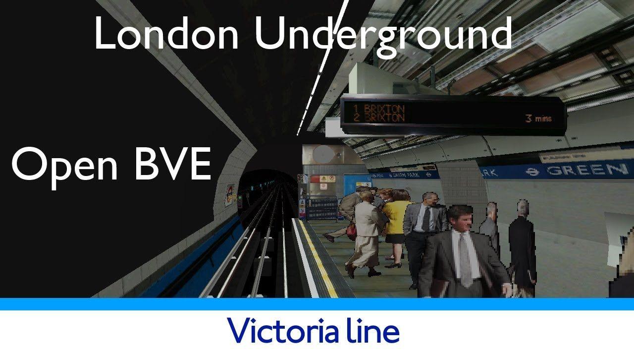 London Underground Simulator Victoria Line #tfl #tube