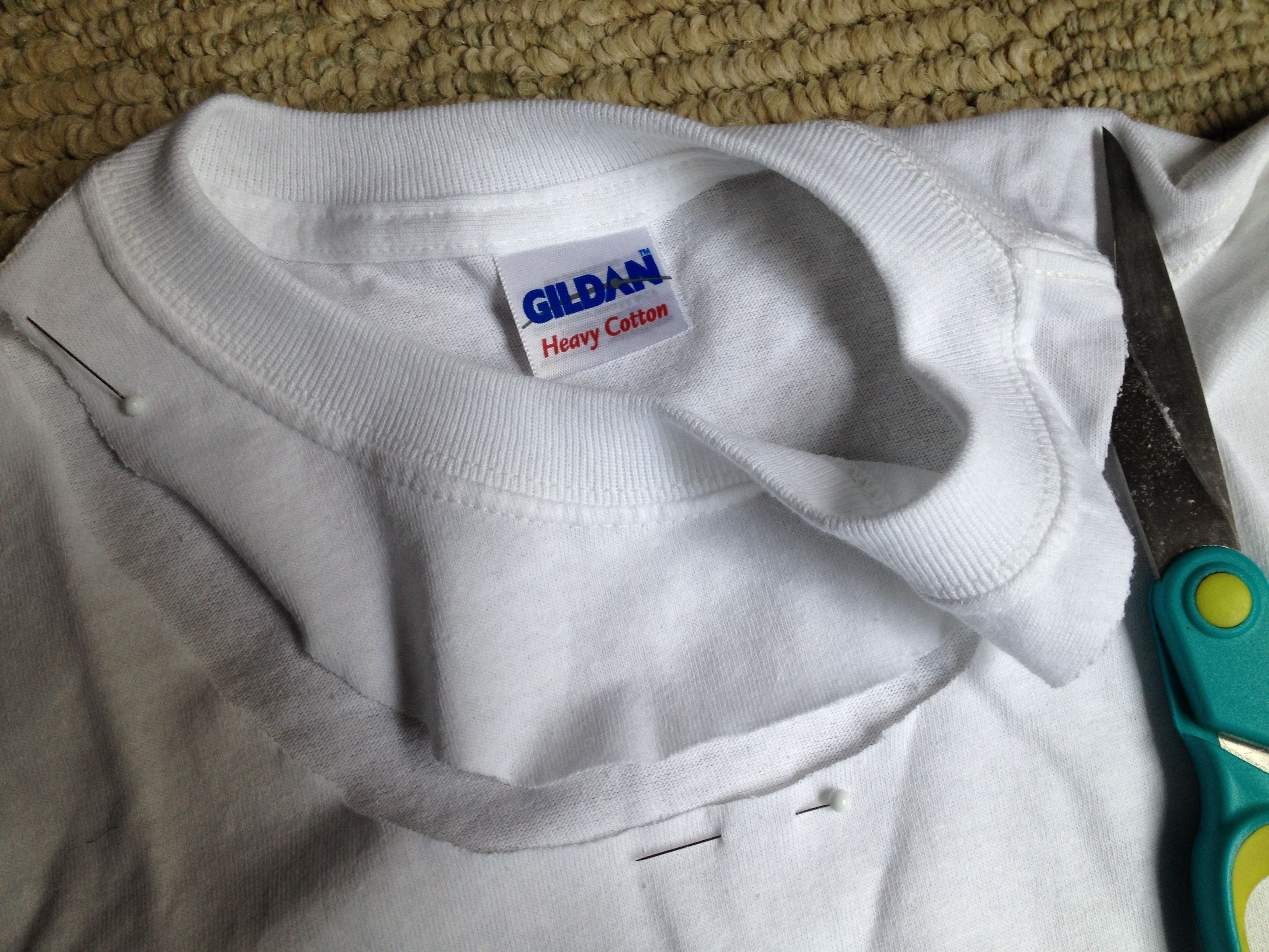 T Shirt Cutting Tutorial
