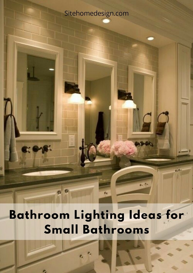 Bathroom Lights Ideas For Each Layout Style In