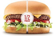 Sonic 1 2 Price Burgers 2016 Cheeseburger All Day Long Info Sonic Drive In Restaurant Coupons Restaurant Deals