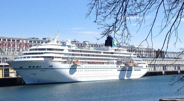 Awesome Cruise Ship Amadea Brings Passengers To Boston Check - Awesome cruise ships