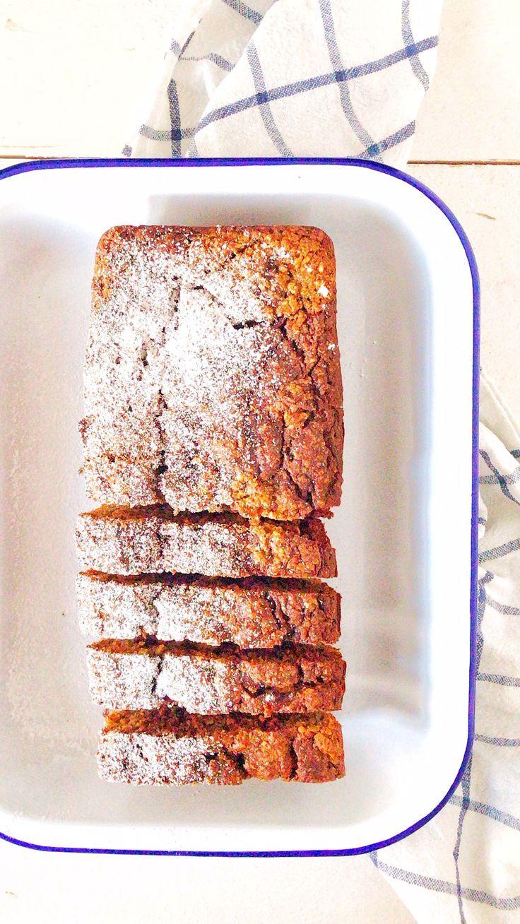 Haferflocken-Apfel-Nuss-Kuchen - Holla die Kochfee #greatcoffee
