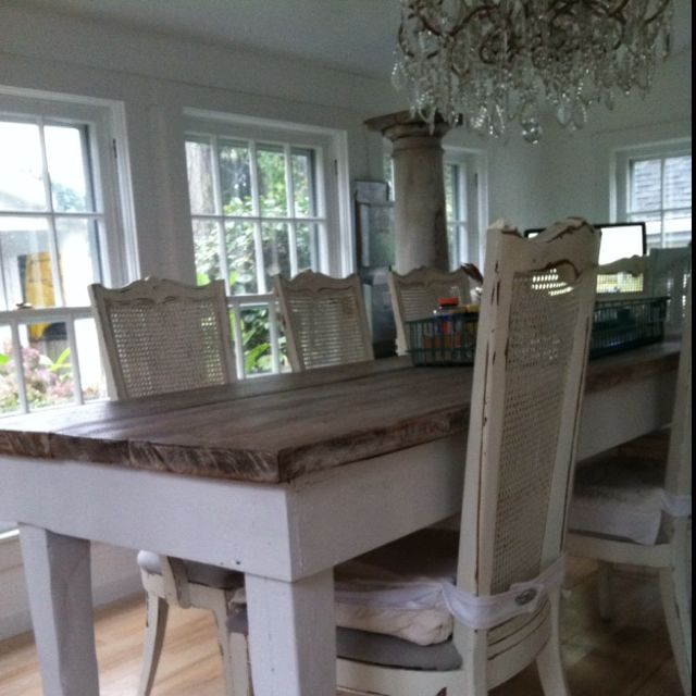 Love Me Some Barnwood Tables