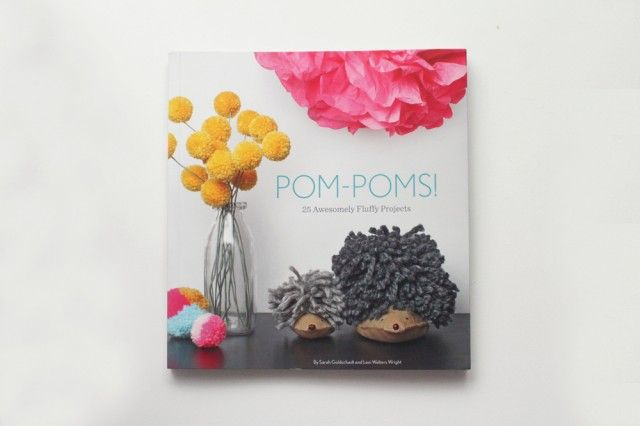 Pom-Poms! Coming 2013 from Quirk Books by Sarah Goldschadt and Lexi Walters Wright