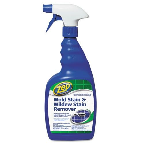 Zep Commercial Mold Amp Mildew Stain Remover 32 Oz As