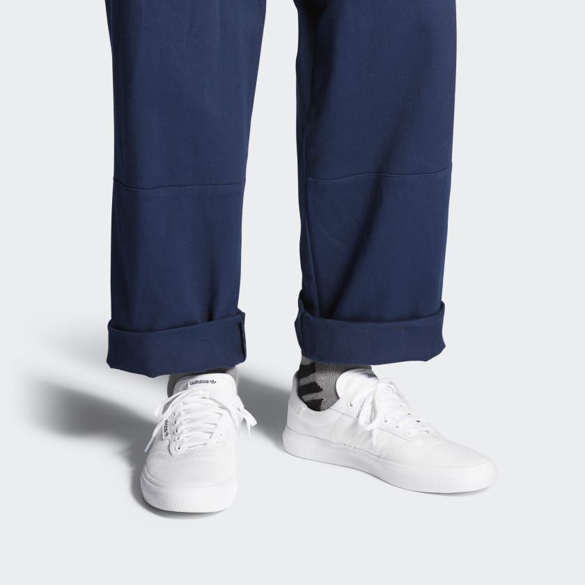adidas 3MC Vulc Shoes | White shoes outfit, Adidas, Shoes