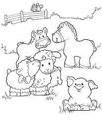 Resultado De Imagen Para Dibujos De Animales De La Granja Para Pintar Farm Animal Coloring Pages Farm Coloring Pages Animal Coloring Pages