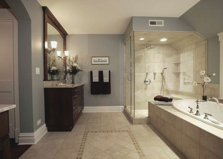 Top 25 Best Beige Tile Bathroom Ideas On Pinterest Beige Beige Tile Bathroom Bathroom Wall Colors Beige Bathroom