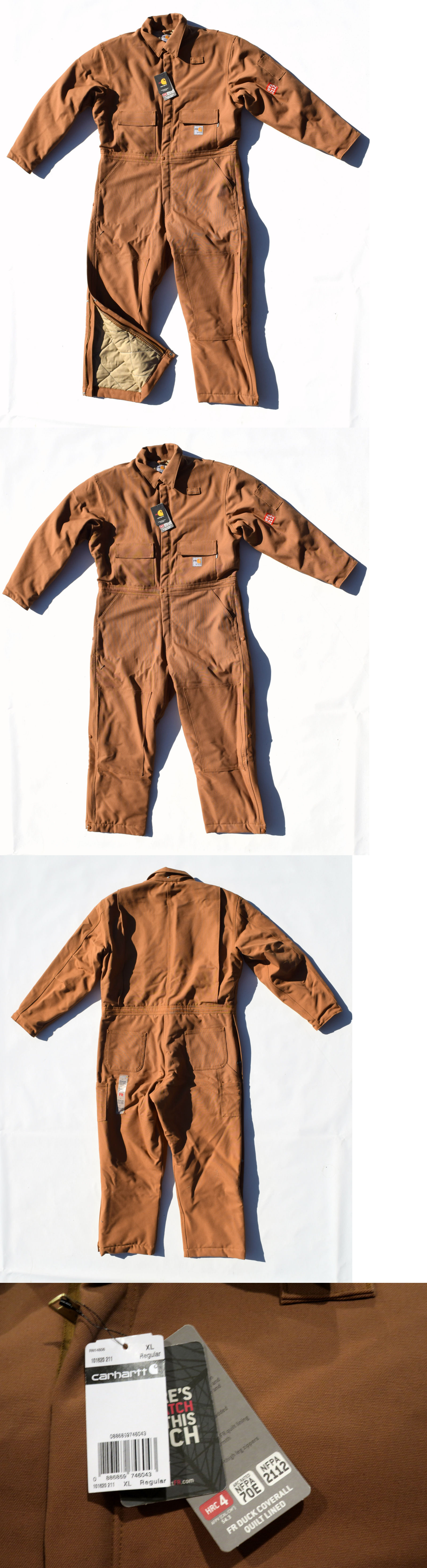 e2ee4ea5c78b Coveralls and Jumpsuits 178962  Carhartt Heavyweight Insulated Fr Flame  Resistant Duck Coveralls Men S Xl 101620 -  BUY IT NOW ONLY   160.16 on  eBay!