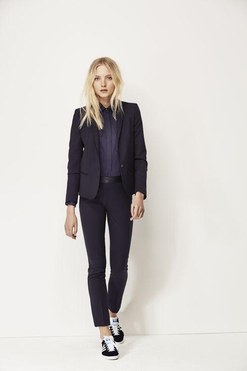 Mode femme I.Code, veste tailleur et pantalon noir   looks love ... d4756bd00142