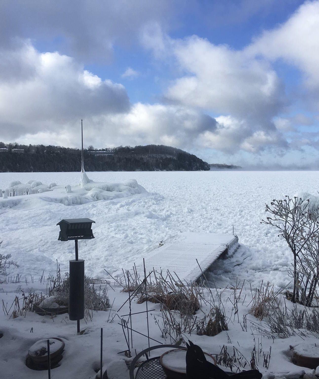 Sister Bay Freezing Over Door County Winter Door County Winter Door County Sister Bay