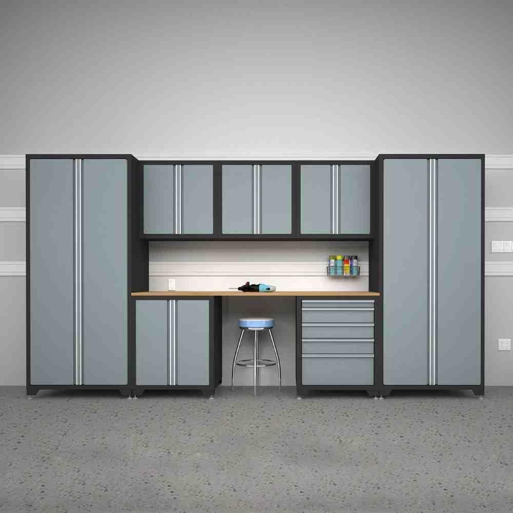Metal Storage Cabinets Lowes Garage Cabinets Garage Storage