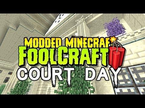 FoolCraft 3 SPECIAL COURT DAY! Modded Minecraft 1