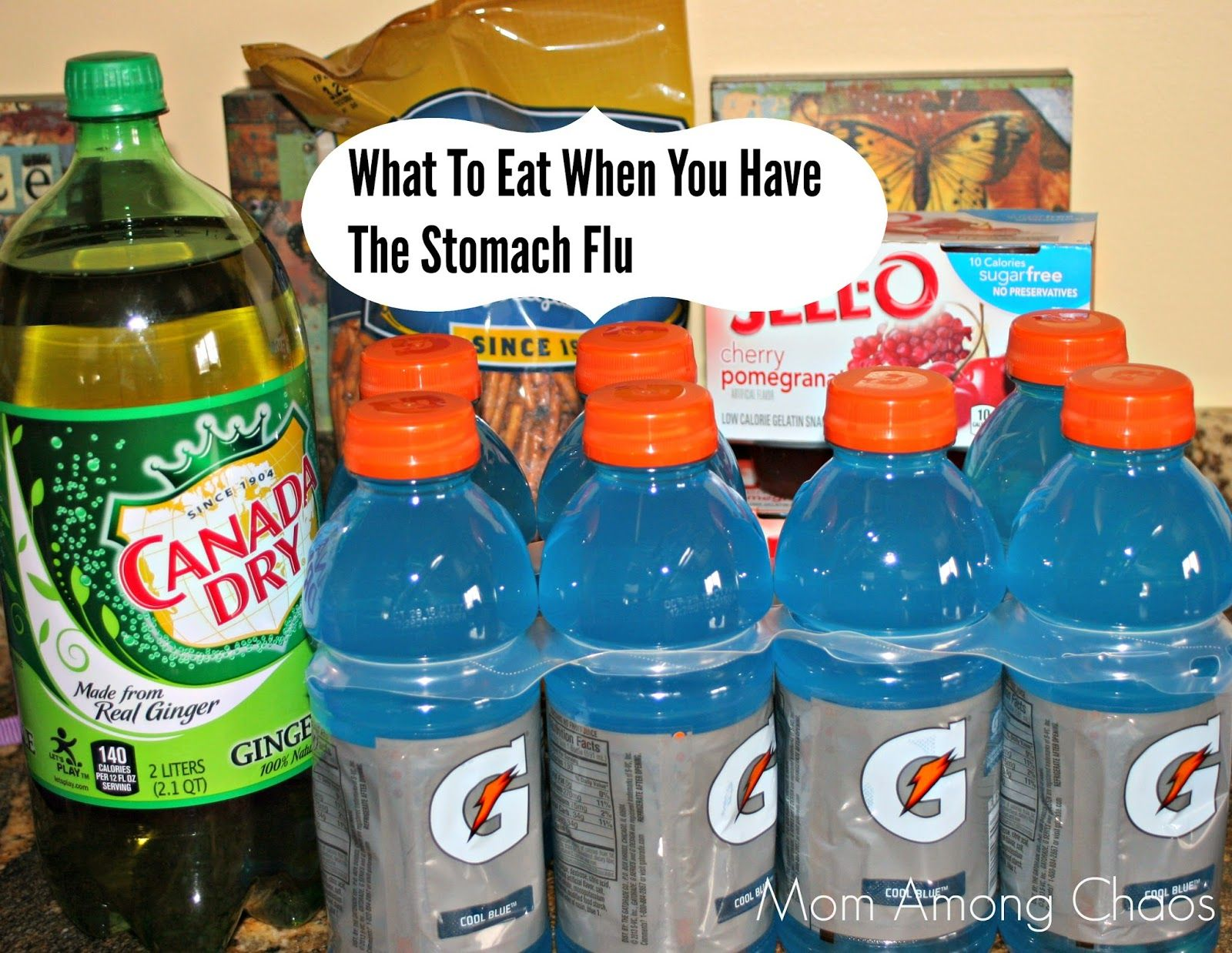 how to get rid of gas after stomach flu