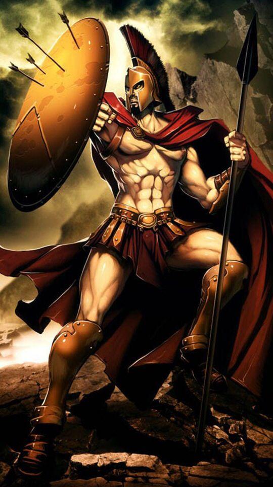Spartan | Anime | Greek mythology tattoos, Spartan warrior ...