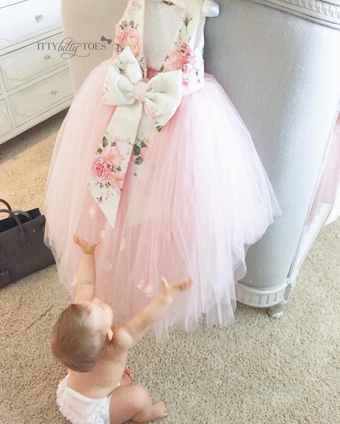 Weure in love with baby sienna and her new lili dress to order her