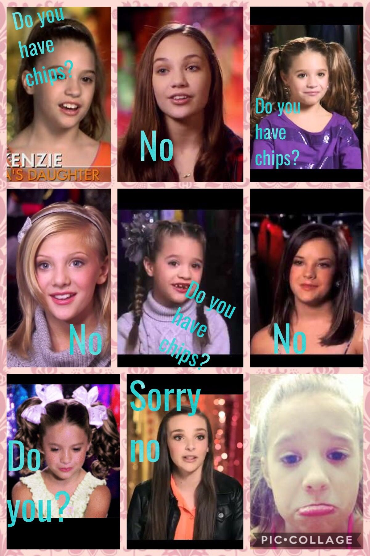 Pin By Maricella On Dance Moms Dance Moms Memes Dance Moms Funny Dance Moms Dancers