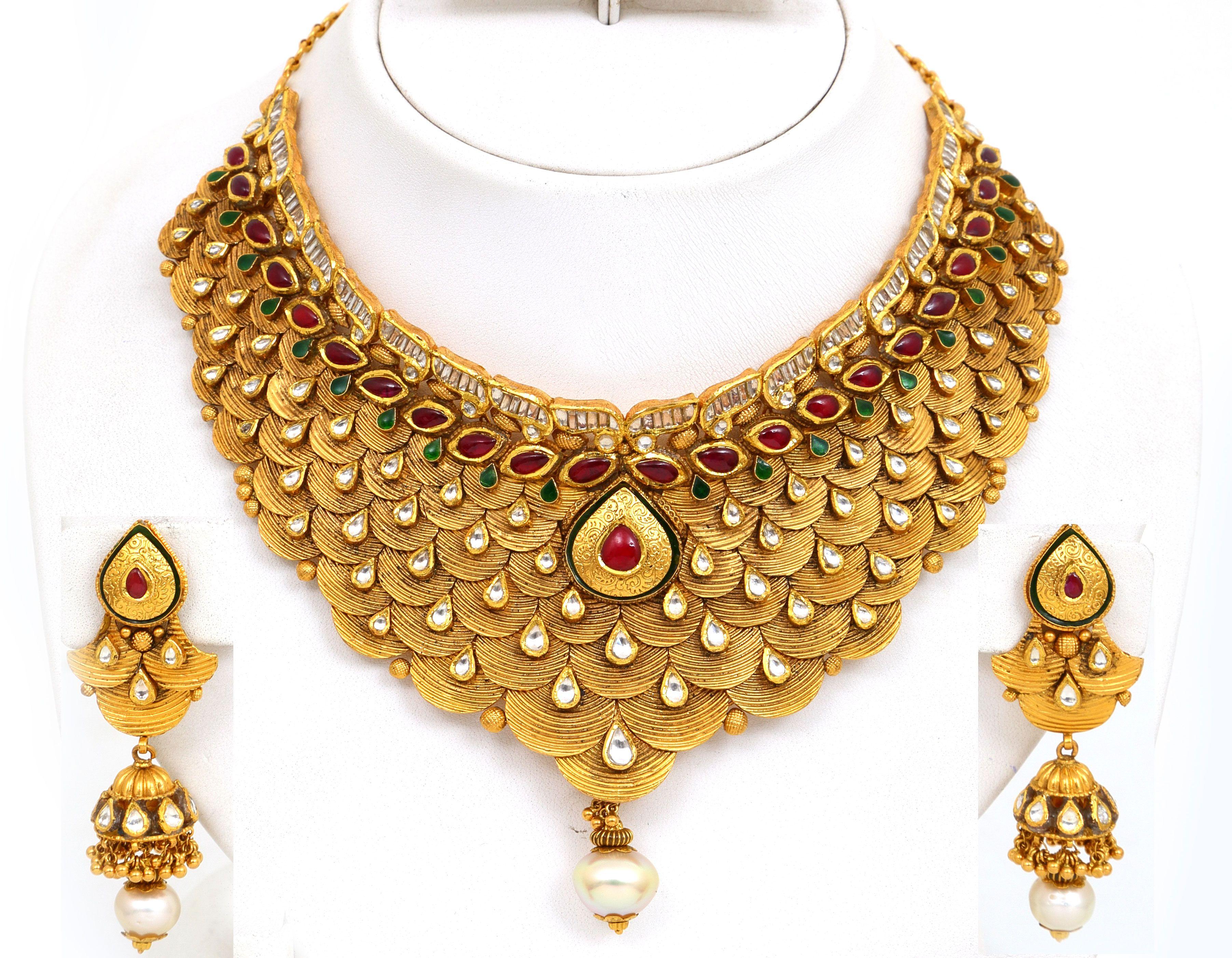 Gold Necklace Design Catalogue I Like Pinterest