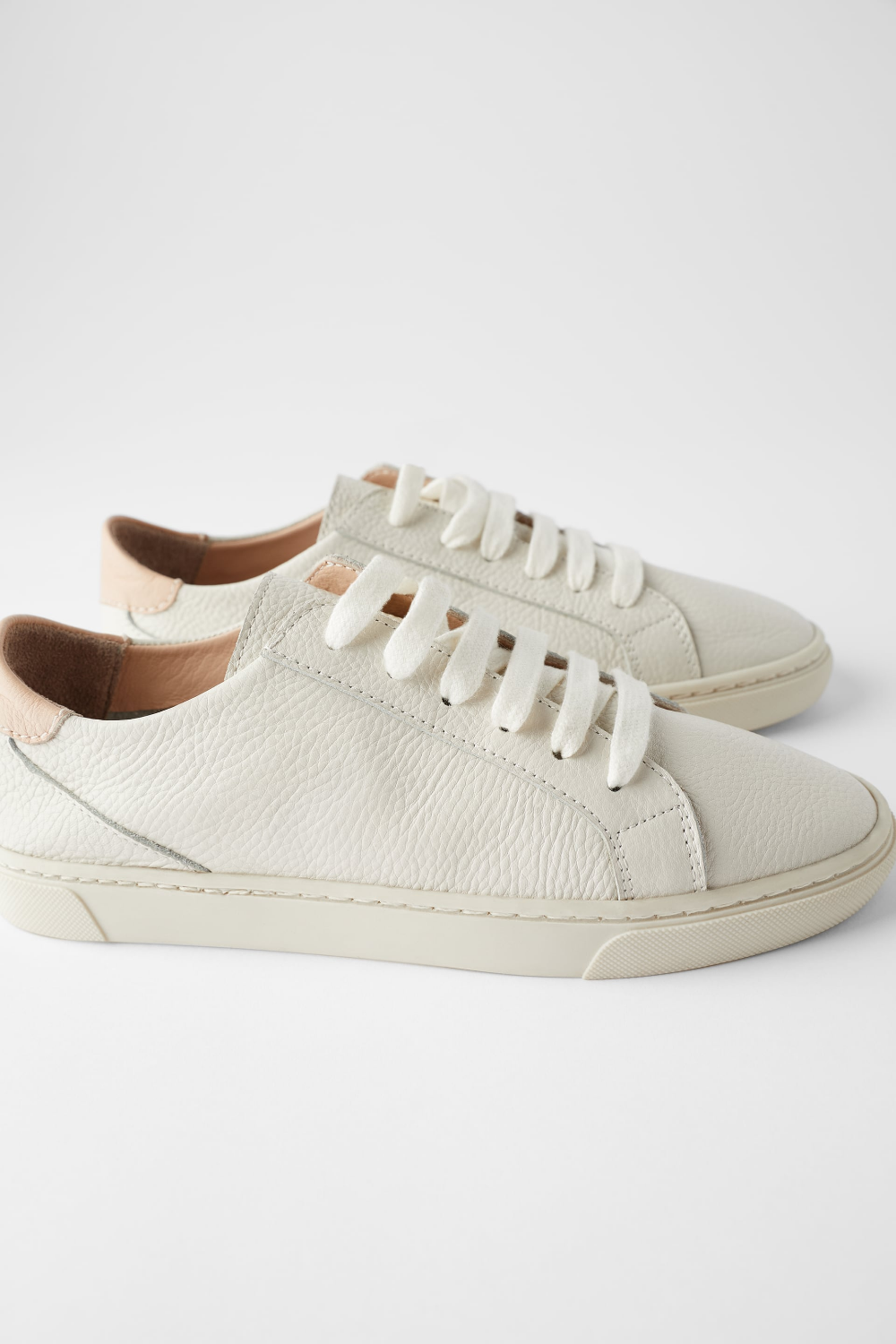 SOFT LEATHER SNEAKERS - View all-SHOES