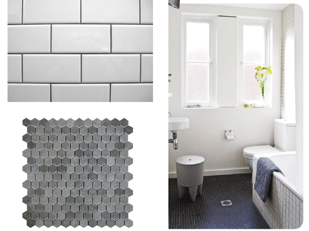 hex tile hexagon tiles tile bathroom floors tile bathrooms cottage