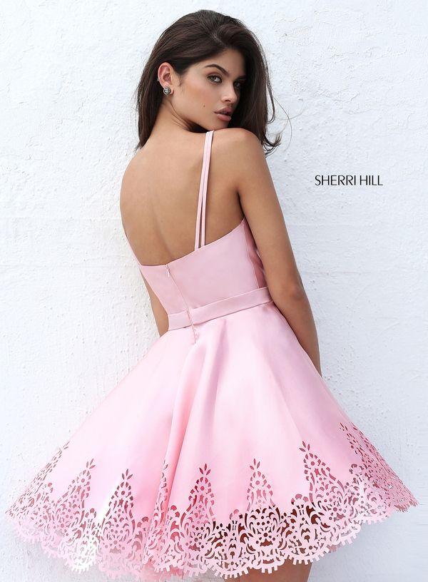 Sherri Hill S50678 | Quincianeras! cortos | Pinterest | Vestiditos ...