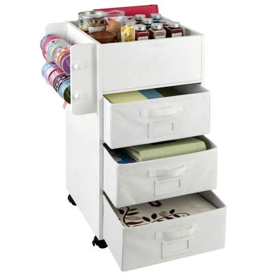 Recollections Mobile Craft Storage Center  sc 1 st  Pinterest & Mobile Craft Storage Center By Ashland® | Organize It | Pinterest ...