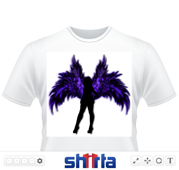 Angel of light or angel of dark ?  You decide ;)