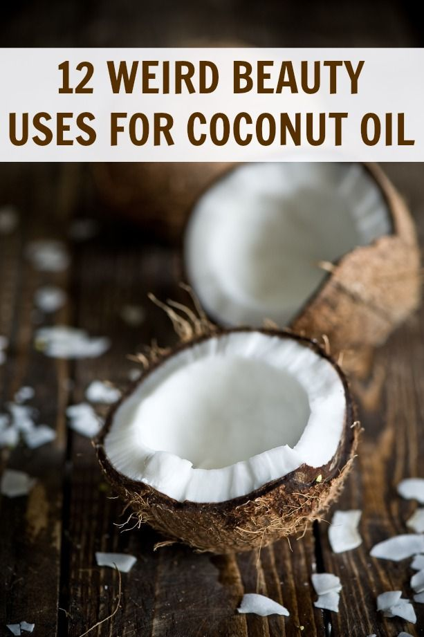 Uses for coconut oil! #diy #beauty #coconutoil
