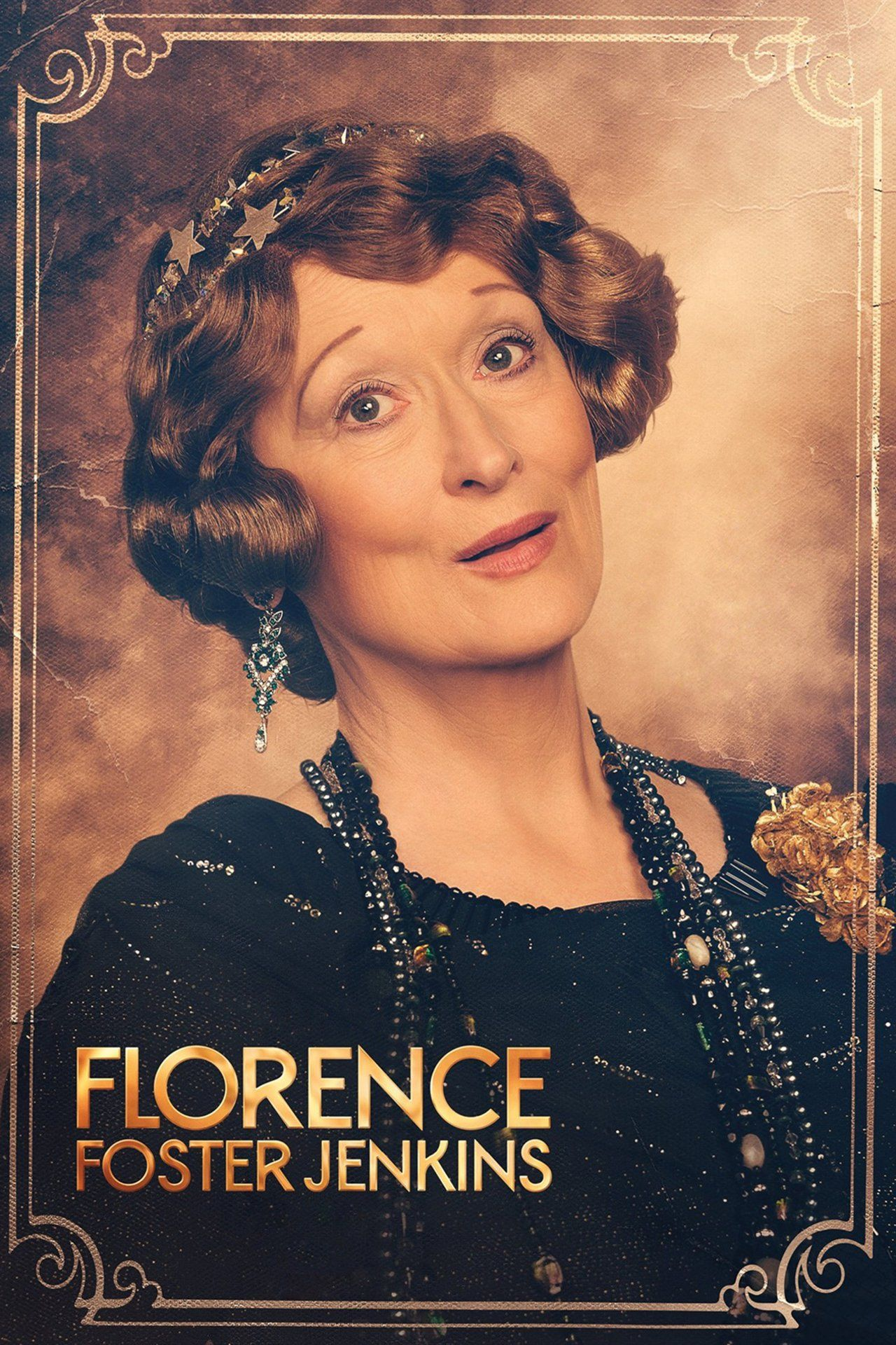 Set in 1940s New York, Florence Foster Jenkins is the true story of the legendary New York heiress and socialite (Meryl Streep) who obsessively pursued her dream of becoming a great singer. The voice she heard in her head was beautiful, but to everyone else it was hilariously awful.